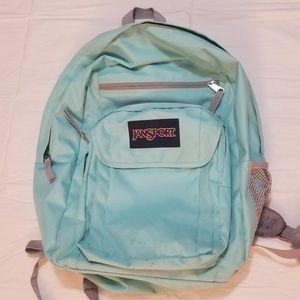 💕Jansport Backpack in Mint Green